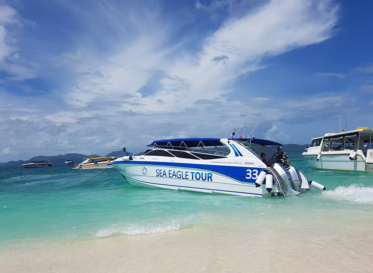 PHI PHI ISLAND BY SPEED BOAT PREMIUM CLASS