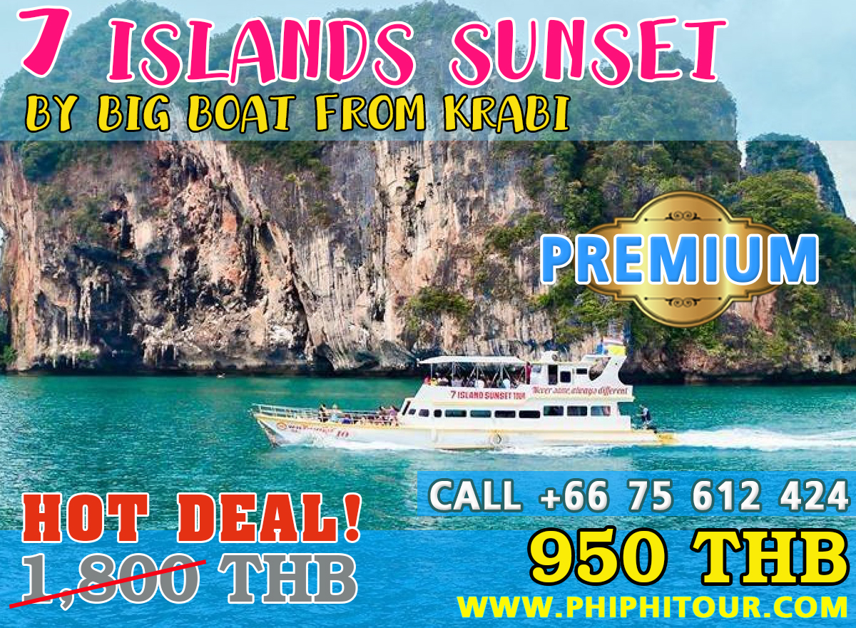7 ISLANDS SUNSET TOUR